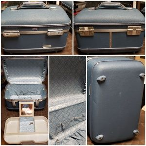 Vintage American Tourister Train Case